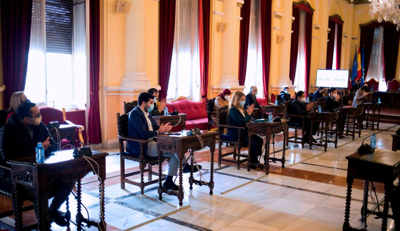 La Asamblea de Melilla, este lunes.