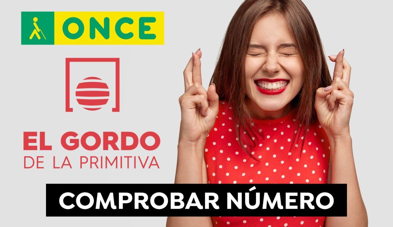 Comprobar ONCE y Gordo Primitiva: Resultado de la lotería del domingo