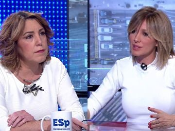 Entrevista a Susana Diaz por Susanna Griso en Espejo Público