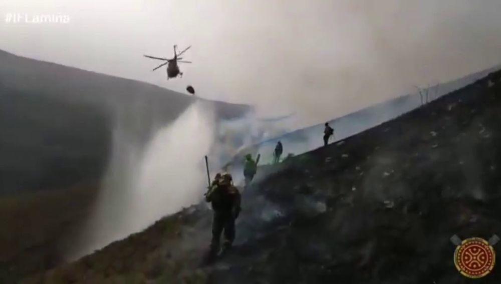 Cantabria sufre 106 fuegos que originaron decenas de incendios en menos de 48 horas
