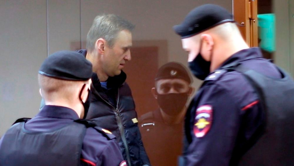 El opositor ruso Alexei Navalny, detenido