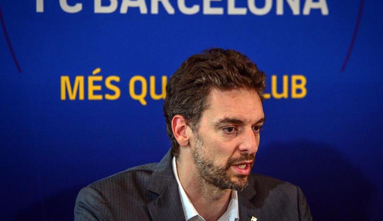 El Barcelona confirma la vuelta de Pau Gasol hasta final de temporada