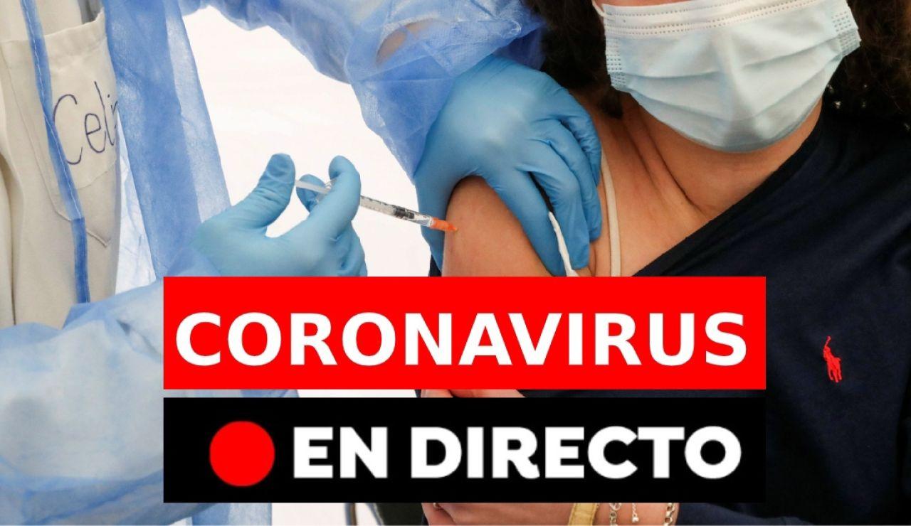 Coronavirus en España hoy: Nuevas restricciones y medidas por covid-19, datos y últimas noticias de la vacuna, en directo