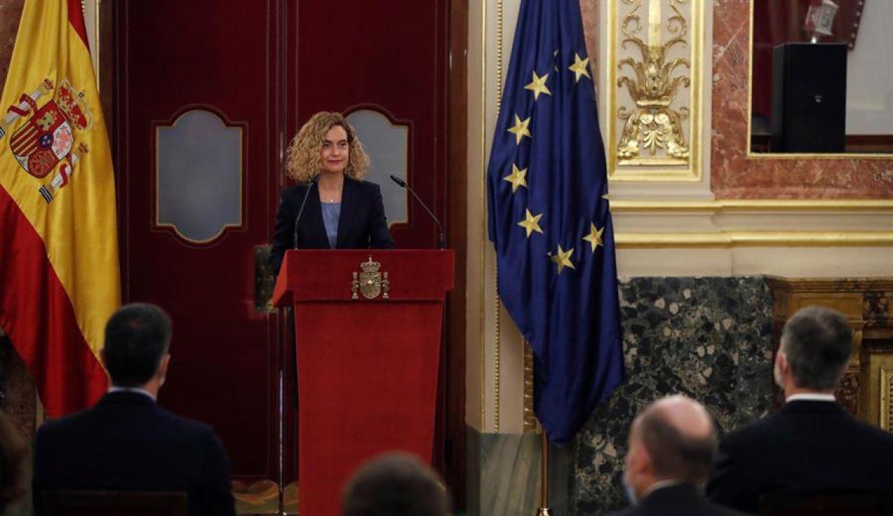 Batet ensalza el papel del rey Juan Carlos el 23-F y recuerda que decir 'Viva España' es decir 'Viva la Democracia'