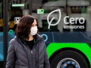 Isabel Díaz Ayuso presenta los autobuses de hidrógeno
