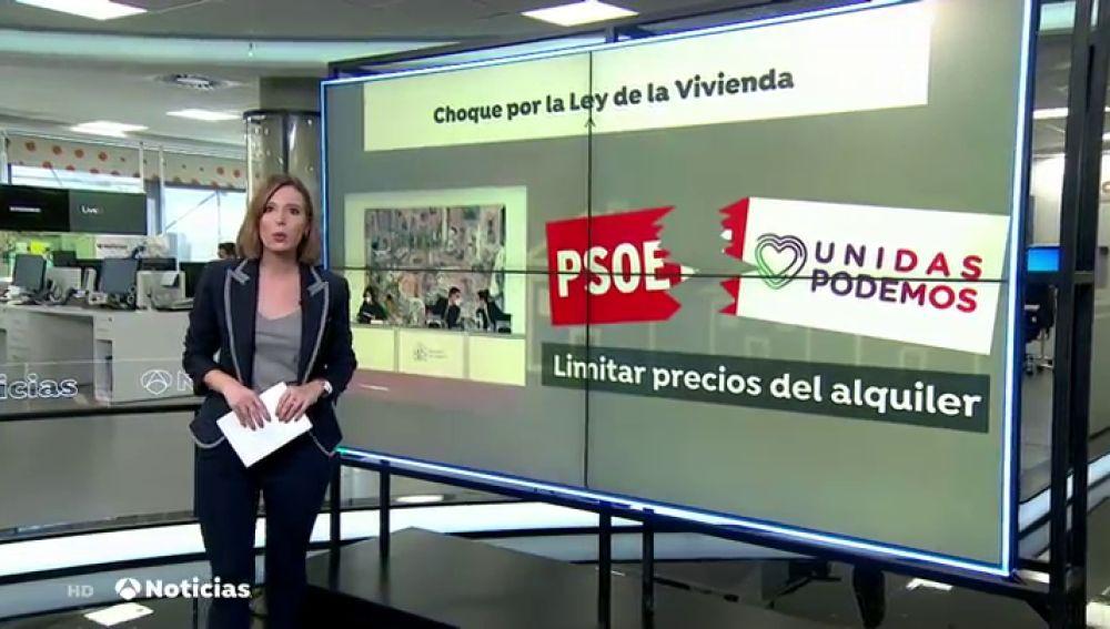"""La advertencia de Pablo Iglesias a José Luis Ábalos por la ley de vivienda: """"Es un error tensionar al Gobierno"""""""