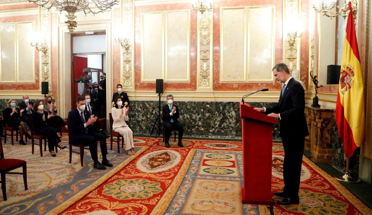Discurso Felipe VI en el 40º aniversario Constitución