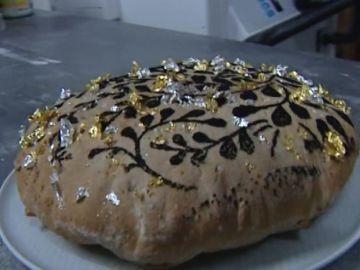 El pan bañado de oro, el más caro del mundo.