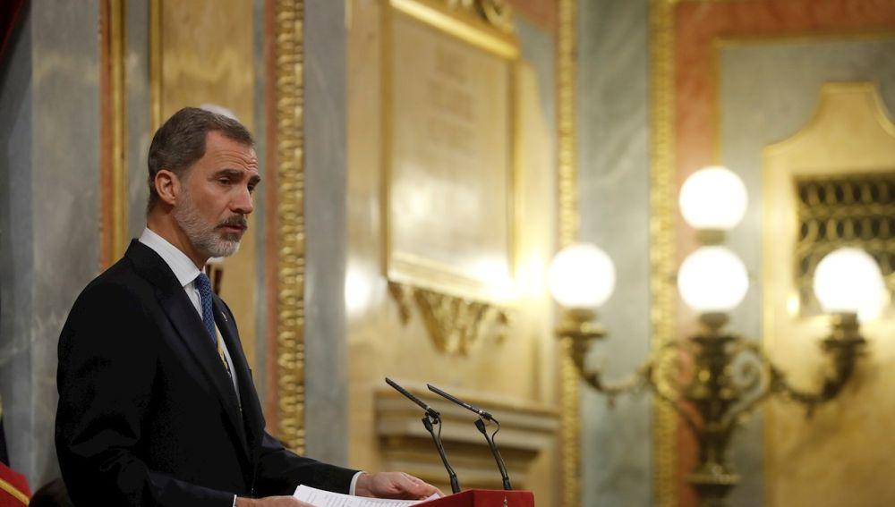 El Rey preside en el Congreso la conmemoración del 40 aniversario del 23-F