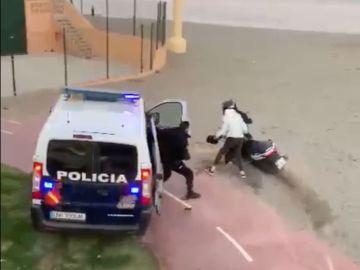 Persecución Fuengirola