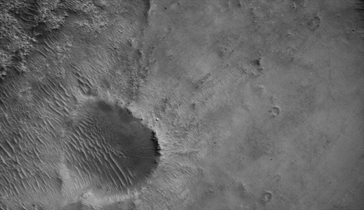Imagen de Marte enviada por Perseverance.