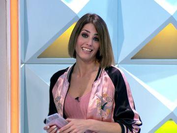 ¿Qué esconde Laura Moure tras el panel de 'La ruleta de la suerte'? ¡Así lo ha enseñado!