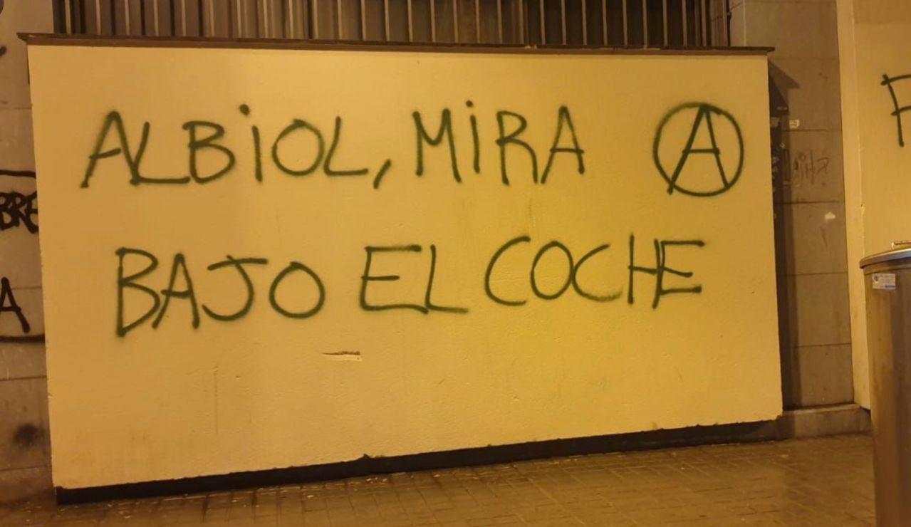 Amenza contra Xavier García Albiol