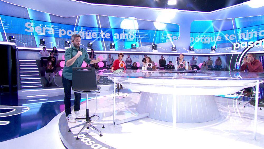 Roberto Leal lleva el ritmo en el cuerpo: ¡ha bailado 600 canciones en 'Pasapalabra'!