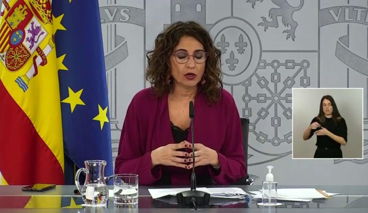 """María Jesús Montero muestra su deseo de que """"en esta semana se llegue a un acuerdo sobre la renovación del CGPJ"""""""