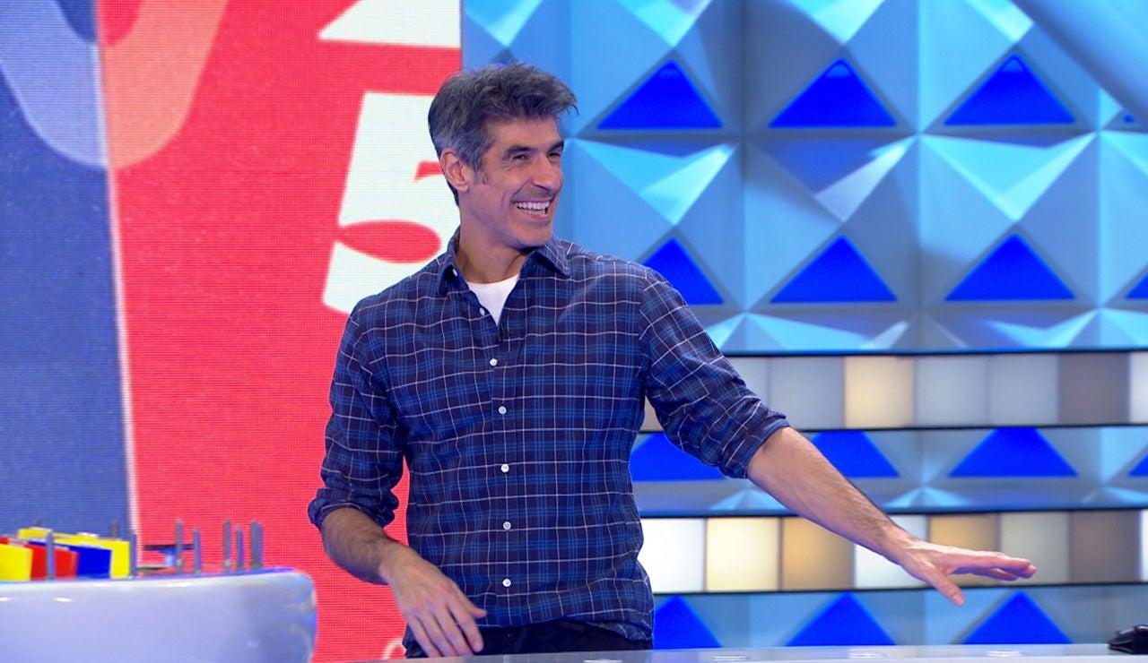 """Jorge Fernández cede su puesto a una concursante: """"¿Te pones tú aquí?"""""""