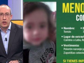 Desaparece bebé 3 años