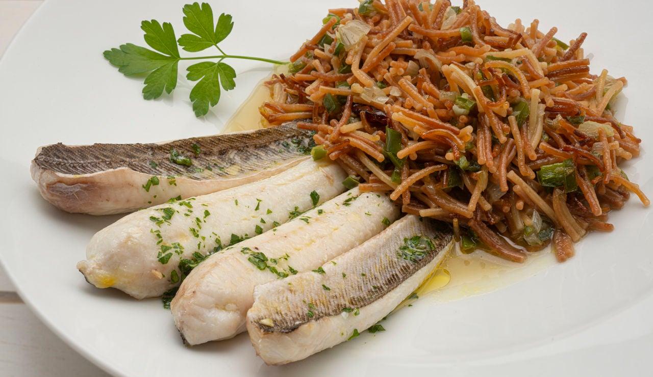 """Una receta """"rica, barata y fácil de hacer"""": sibirón con fideos, de Karlos Arguiñano"""
