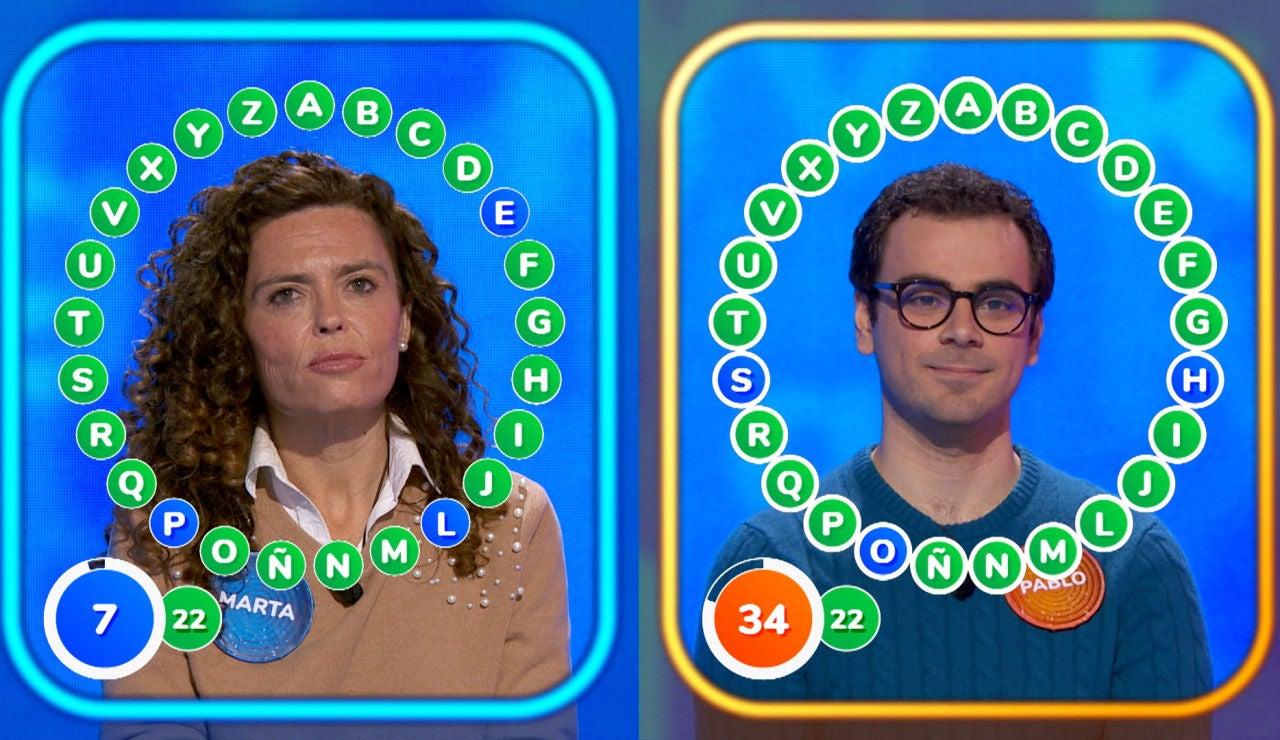 Tensión y mucho miedo en el duelo entre Marta y Pablo por 1.288.000 euros