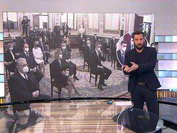 Las dos caras de los aplausos de Pablo Iglesias