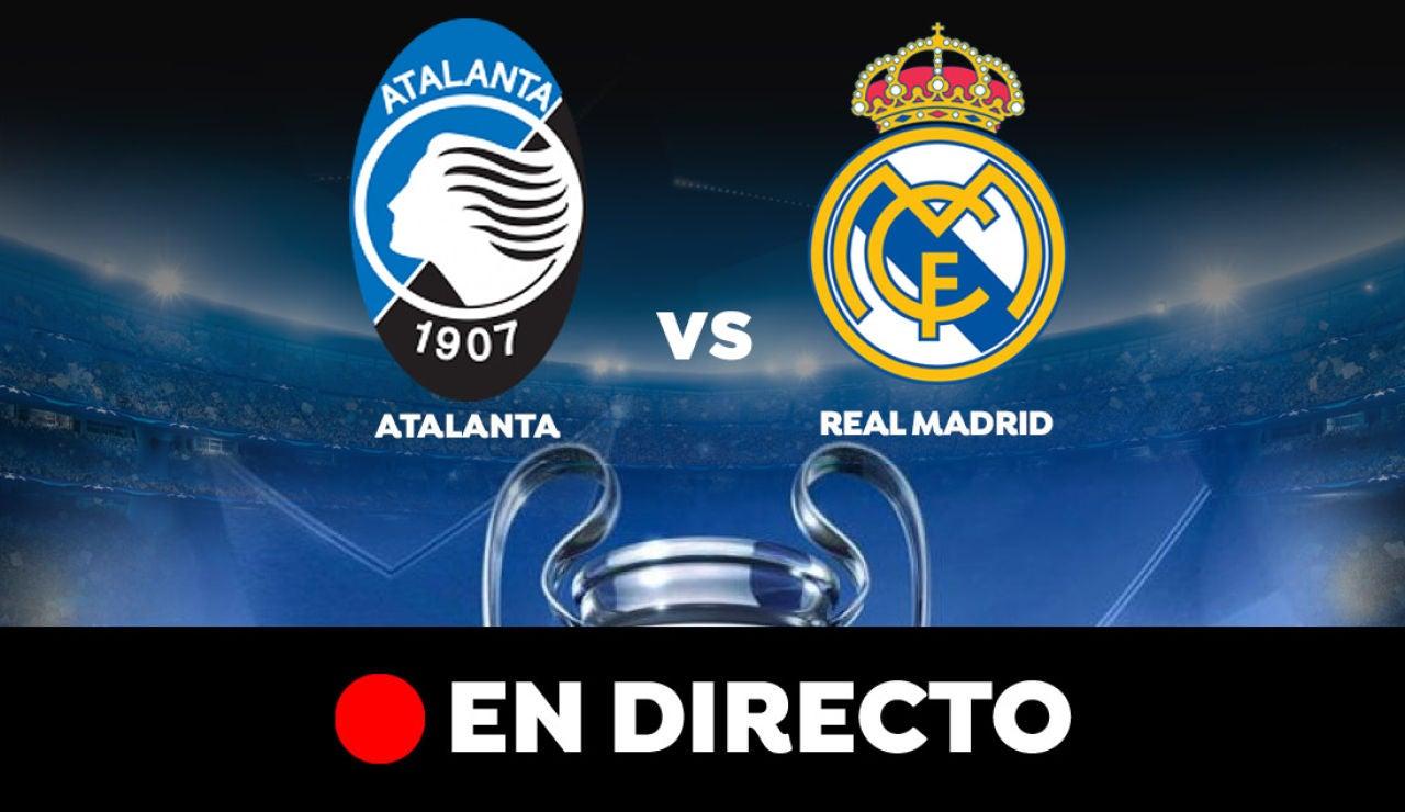 Atalanta - Real Madrid: Resultado y goles del partido de hoy, en directo | Champions League