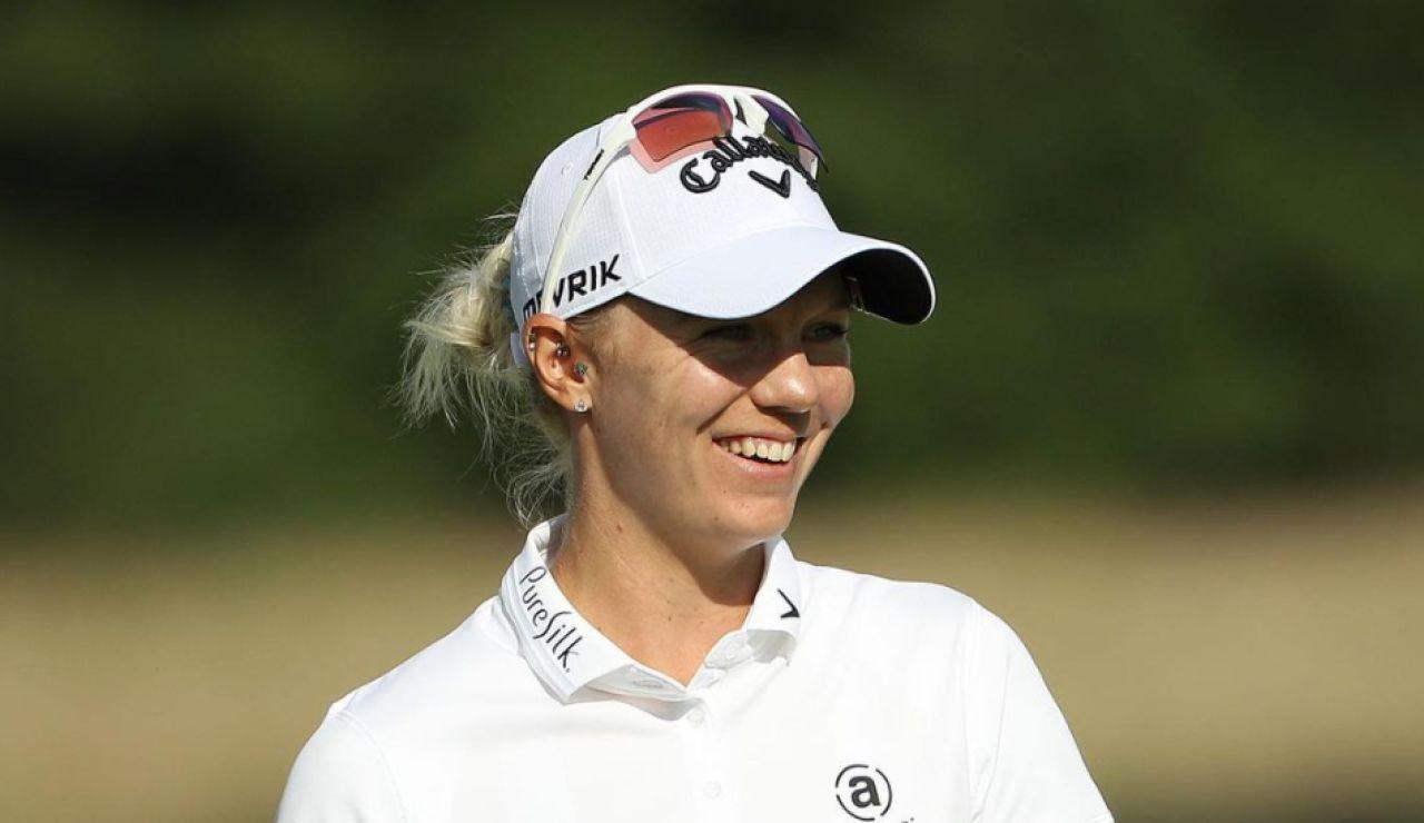 """La golfista Madelene Sagstrom desvela que sufrió abusos sexuales a los 7 años: """"Me odiaba a mí mismo"""""""