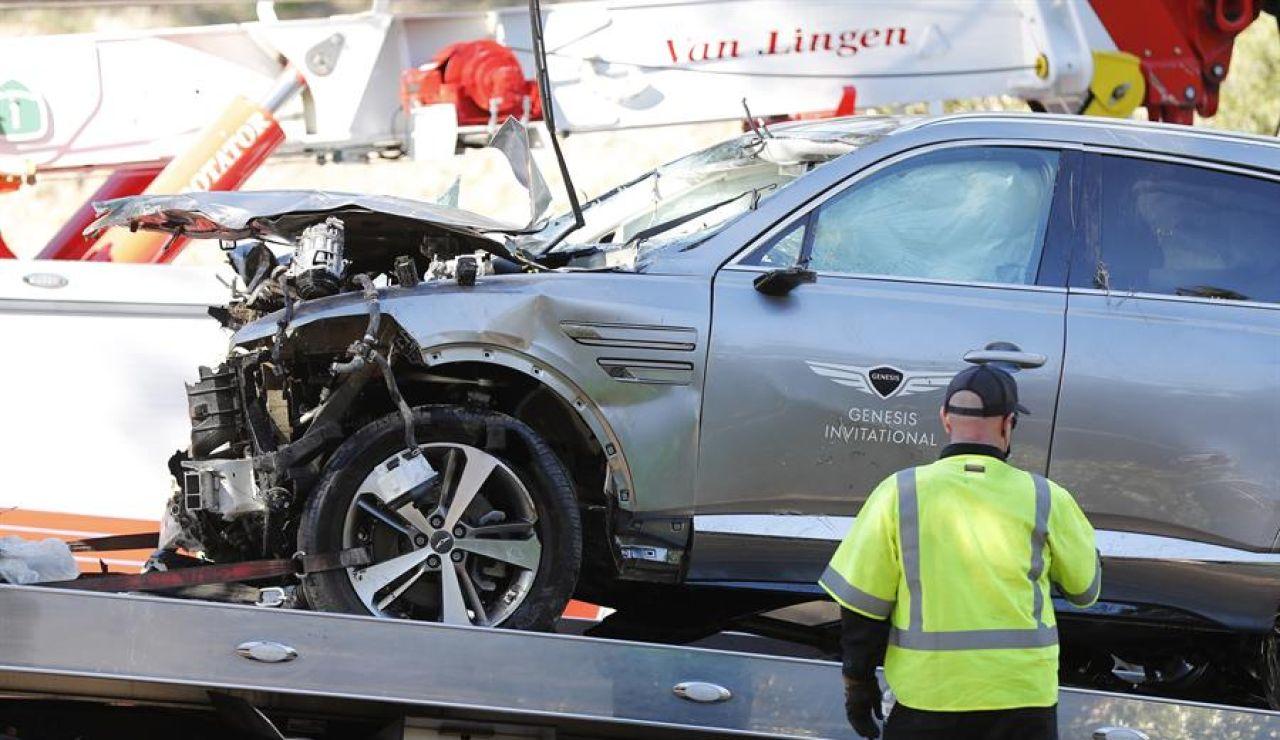 Tiger Woods, operado de varias fracturas en las piernas tras su grave accidente de tráfico en Los Ángeles