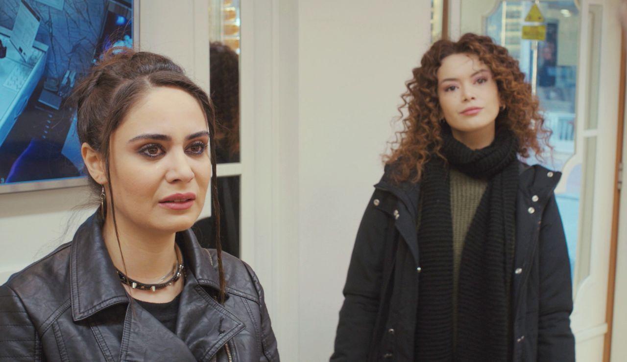 De enemigas a aliadas, Sirin e Idil se asocian para recuperar los diamantes