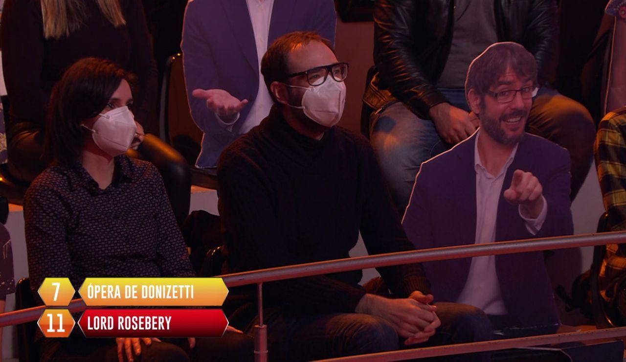 ¡Qué lujazo! Axel Torres aparece en '¡Boom!' tras una respuesta aleatoria en la bomba final