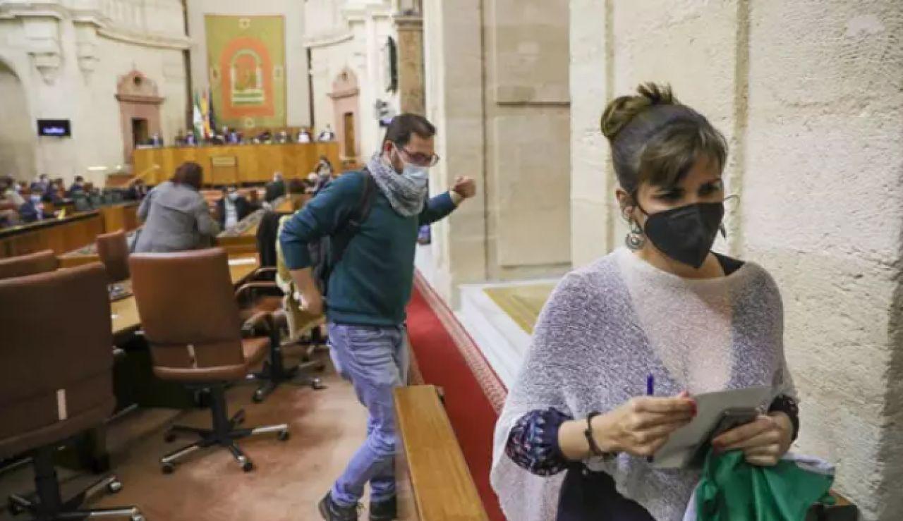 Diputados de Adelante Andalucía
