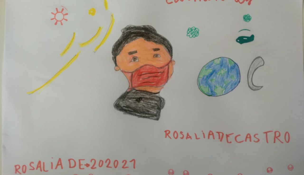 Así ven los niños a Rosalía de Castro
