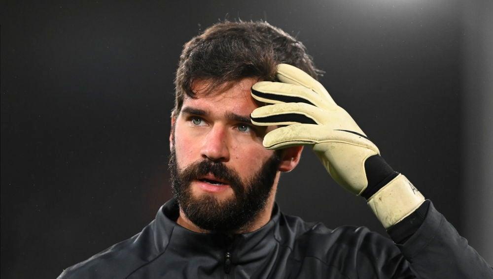 Alisson Becker, portero del Liverpool