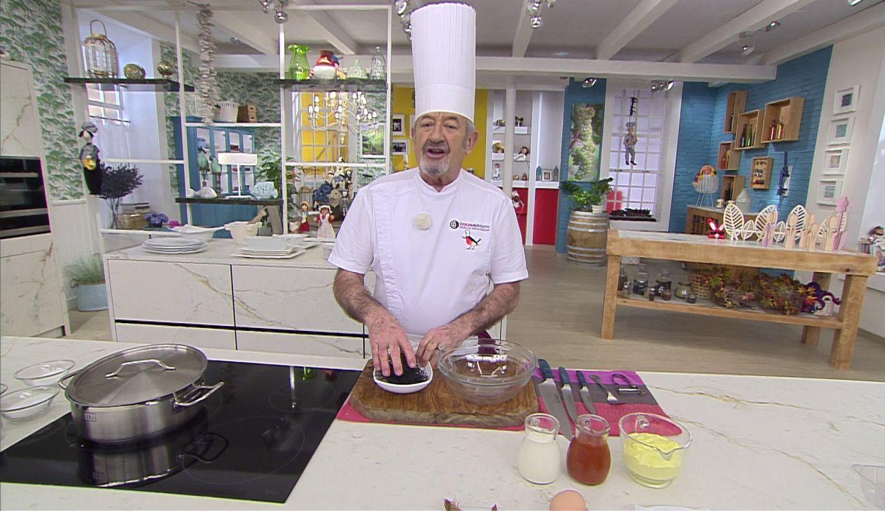 Karlos Arguiñano, pionero en utilizar algas para cocinar: el toque especial