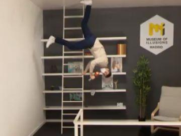 El Museo de las ilusiones de Madrid consigue con diferentes perspectivas y efectos engañar a nuestro cerebro
