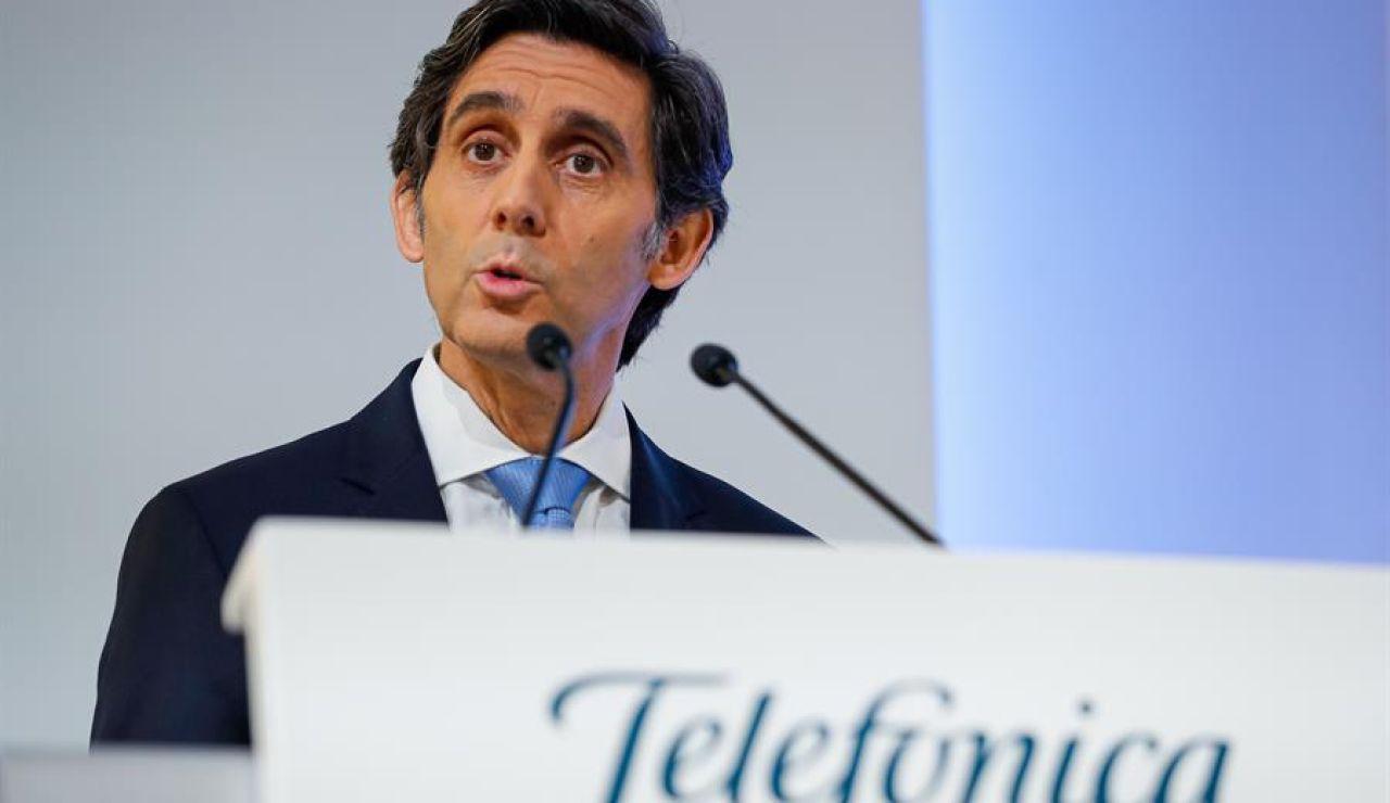 Telefónica gana un 38,5% más en 2020 un año marcado por el coronavirus, la digitalización y el uso de fibra