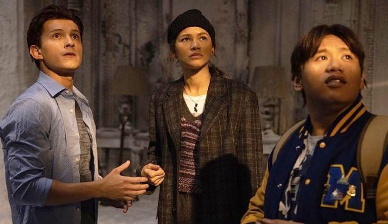 Tom Holland, Jacob Batalon y Zendaya