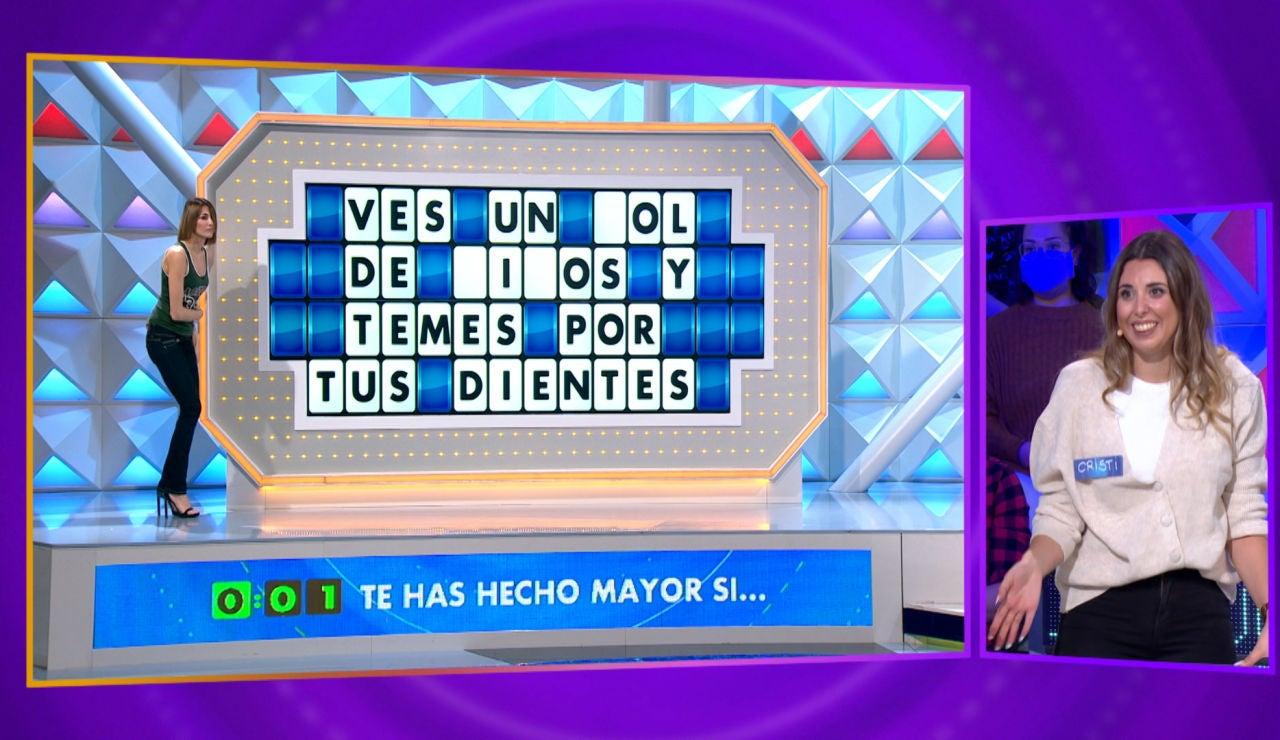 Una 'palabra maldita' y una consonante poco común descoloca a los concursantes de 'La ruleta de la suerte'