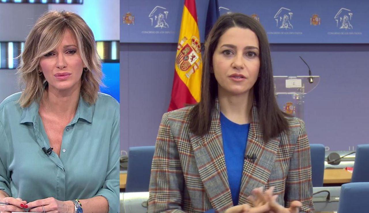 Inés Arrimadas en Espejo Público.