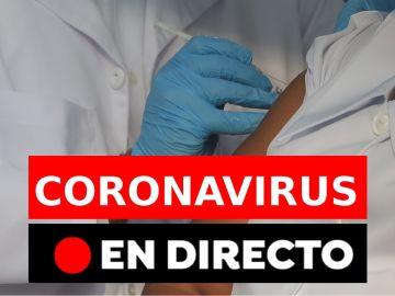 Última hora del coronavirus en España hoy, en directo: Restricciones y medidas en las zonas confinadas de Madrid, Cataluña, Castilla-La Mancha, Comunidad Valenciana, Galicia, Baleares y las últimas noticias de la vacuna contra la COVID-19. Últimos datos y nuevos casos por provincias, en directo hoy