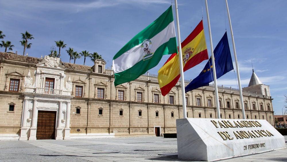 Andalucía celebra un 28 de febrero especial marcado por la pandemia de coronavirus y sus limitaciones