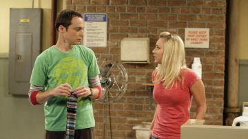 Kaley Cuoco y Jim Parsons