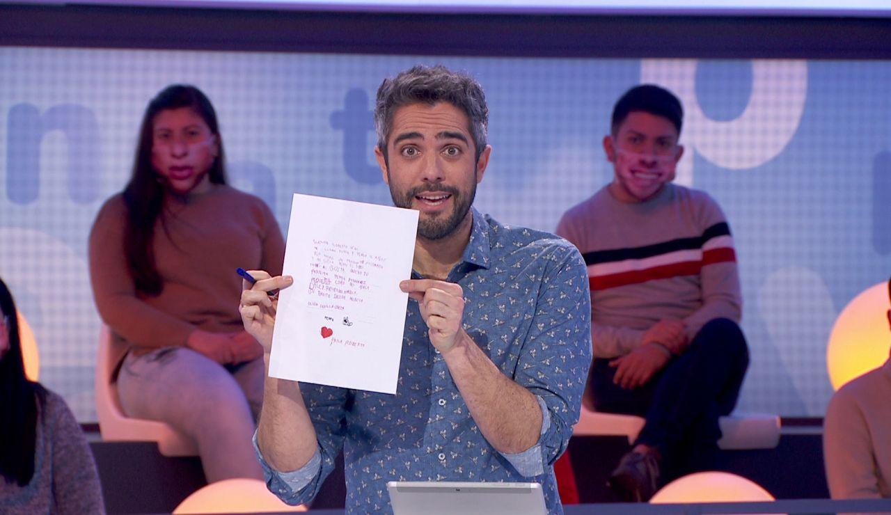 """La carta de Olivia enternece a Roberto Leal: """"Uno de los regalos de trabajar en televisión"""""""