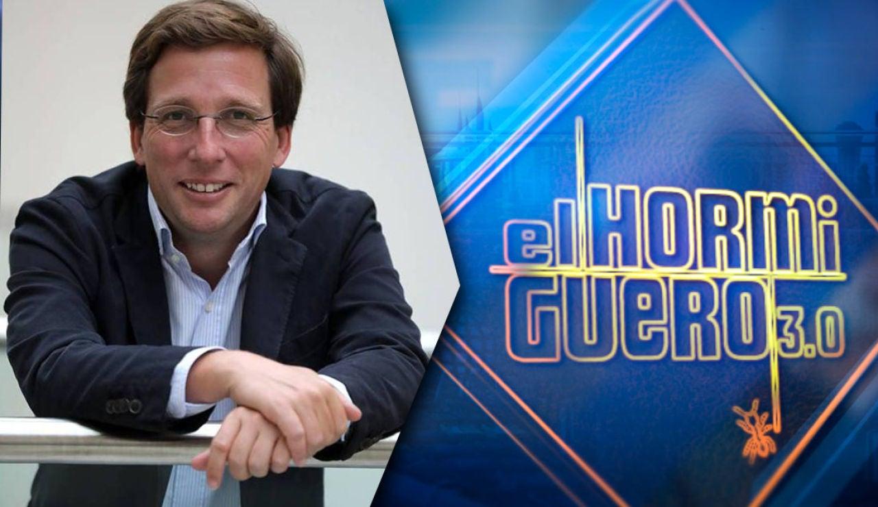 El martes recibimos en 'El Hormiguero 3.0' al alcalde de Madrid, José Luis Martínez-Almeida
