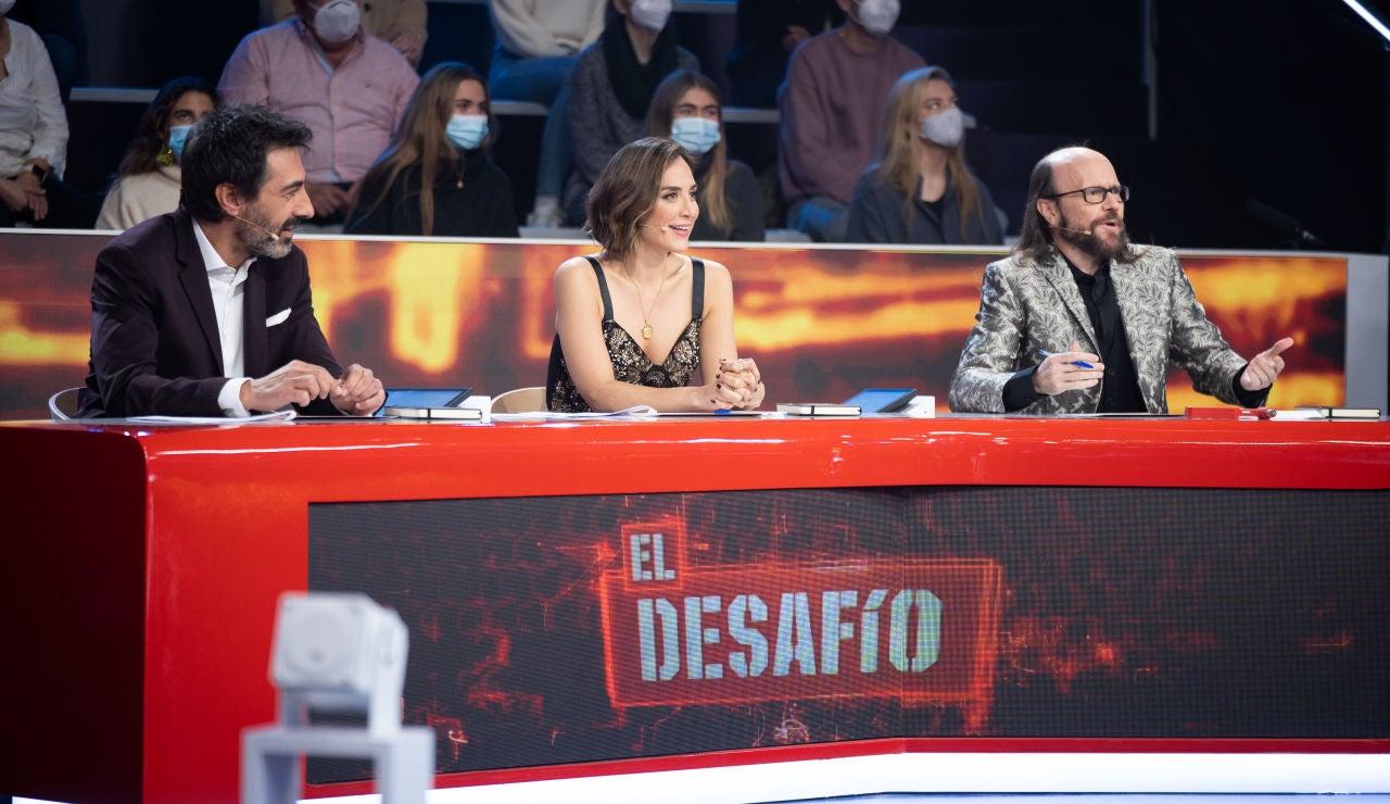 "Santiago Segura: ""Ana Peleteiro, tienes un carácter un poquito…"""