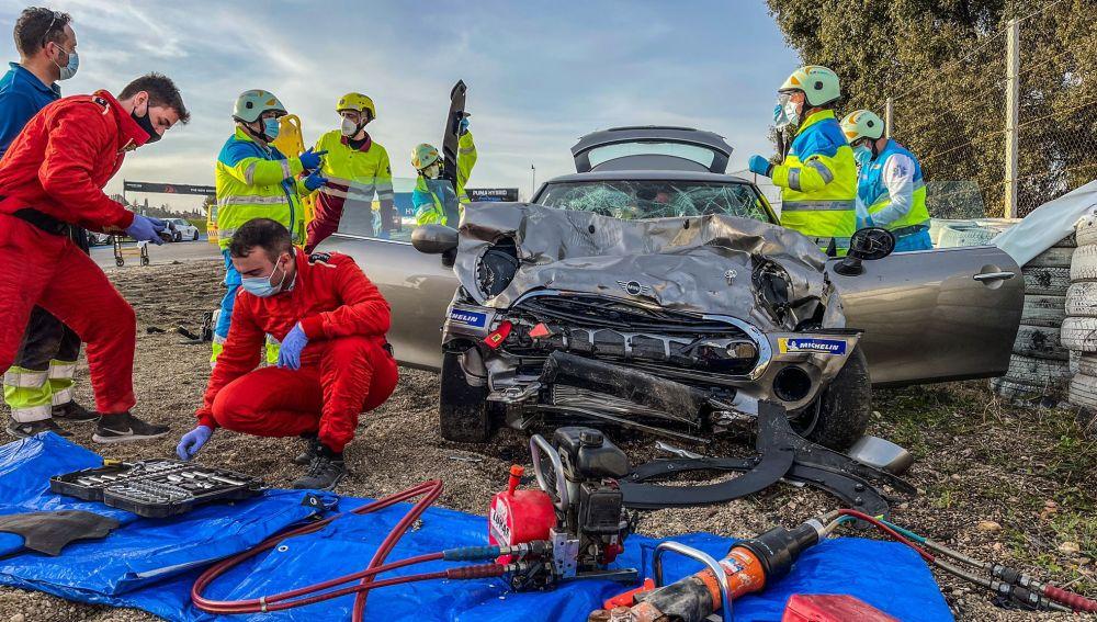 Muere un joven de 18 años al sufrir un accidente en el Circuito del Jarama