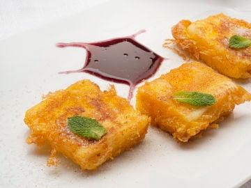 """Una receta """"que puede hacer cualquiera y saldrá de 10"""": leche frita, de Karlos Arguiñano"""