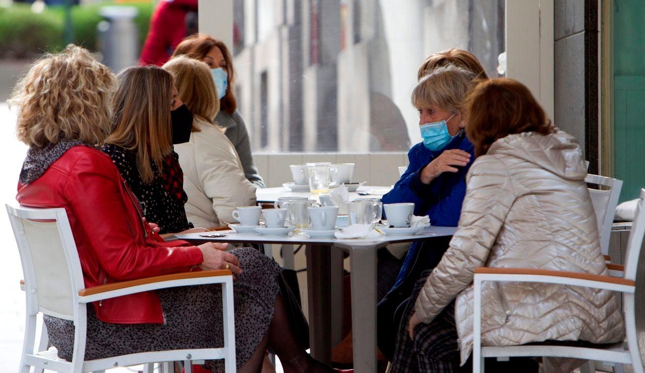 La hostelería vuelve a abrir en Galicia