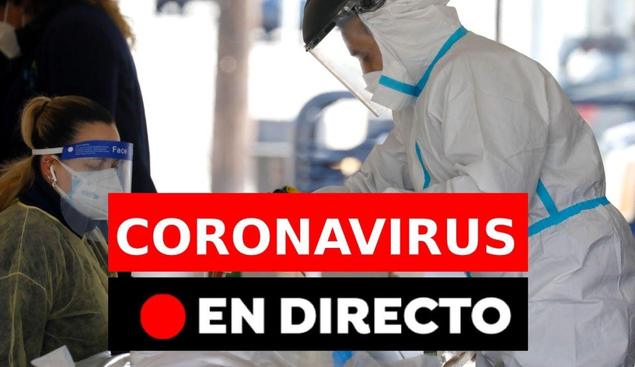 Nuevas restricciones y datos sobre la última hora de la pandemia del Covid-19 en España hoy, en directo.