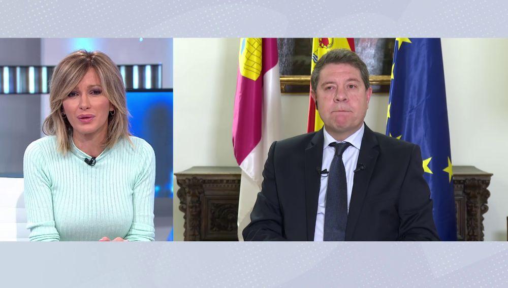 """Emiliano García-Page, sobre el Rey emérito: """"No hay nadie libre de pecado"""""""
