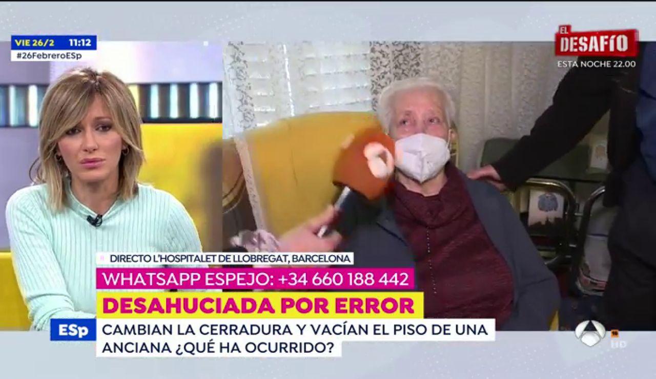 El calvario de Rosario, la anciana de 97 años desahuciada de su piso por error